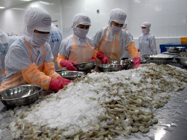 Shrimp export expected to top 4 billion