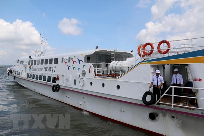 More high-speed boat trips scheduled to Phú Quốc Island
