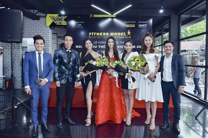 Tài selected as ambassador for Việt Nam Fitness Model 2019