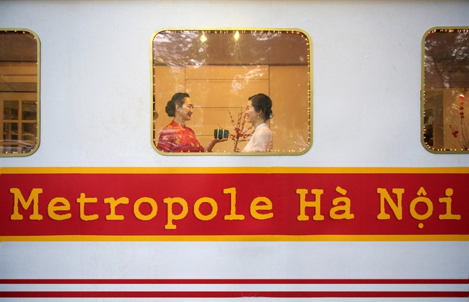 Metropole Hanoi welcomes Lunar New Year with a tram-themed Tết bazaar