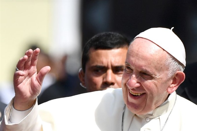 Pope in Panama blasts fears and suspicions over migration
