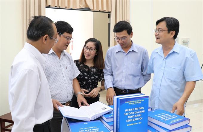 Book series on Sài Gòns intellectuals released