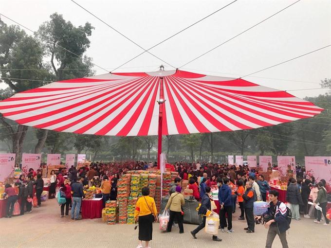 Special market for poor patients held in capital