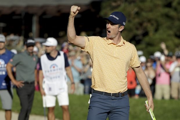Top ranked Rose holds off Scott to win Farmers Insurance Open