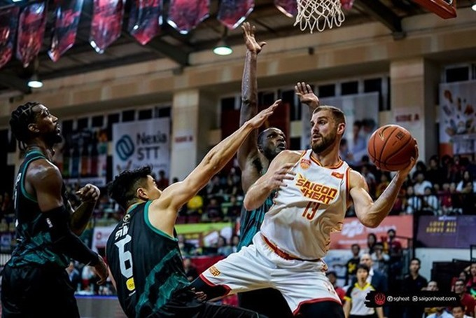 Saigon Heat lose to Westports Malaysia Dragons in ABL