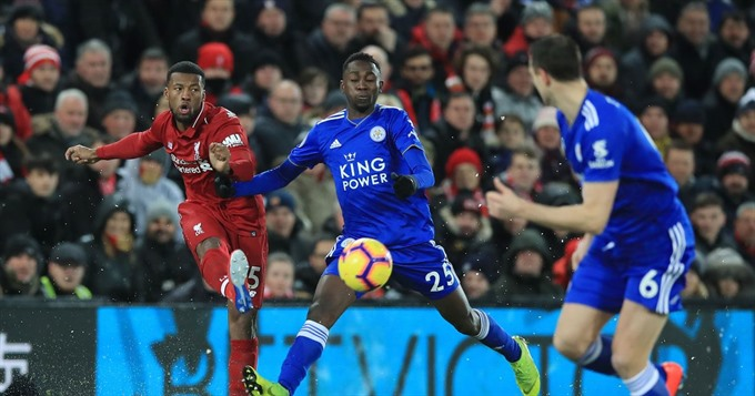 Leaders Liverpool slip up in Leicester draw
