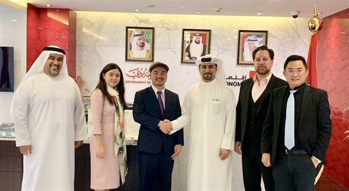 SAPA Thale Group Dubai FDI to quickly deploy projects in VN and UAE