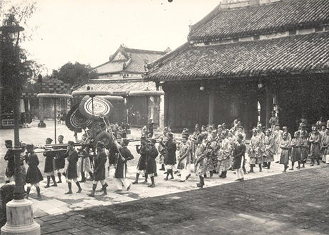 Tết customs in the Nguyễn royal court