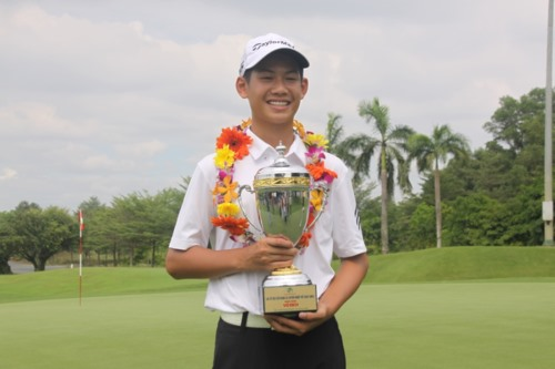 13-year-old Vietnamese golfer listed in World Amateur Golf Ranking