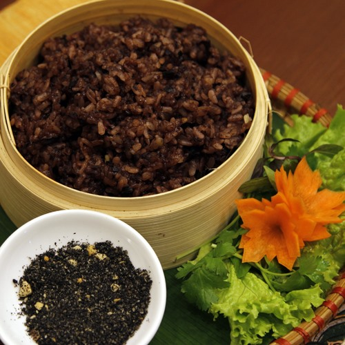 Xôi trám a specialty of Cao Bằng