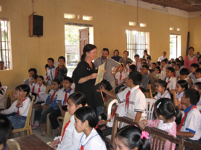 Vietnamese Danish authors get children involved in literature