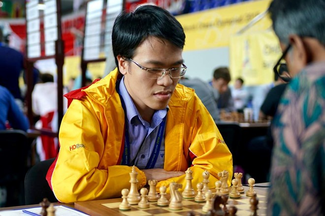 Chess GM Liêm wins Bay Area International