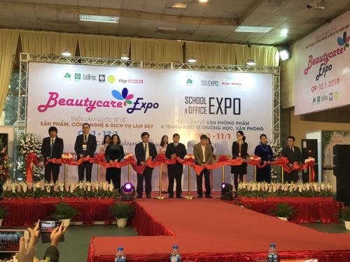 Beautycare Expo 2019 opens in Hà Nội