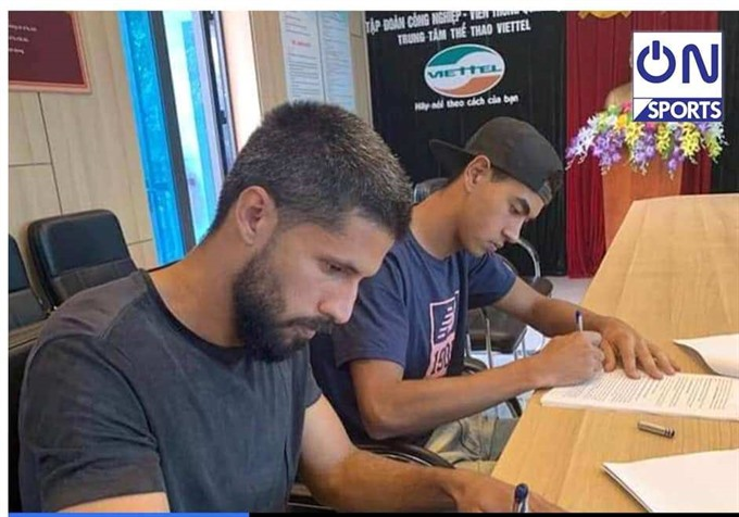 Viettel signs contracts with Brazilian footballers