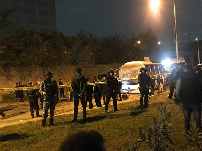 Vietnamese tourists wounded in Egypt bombing to arrive home