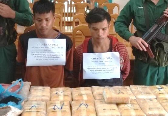 Two Lao nationals arrested for drug smuggling