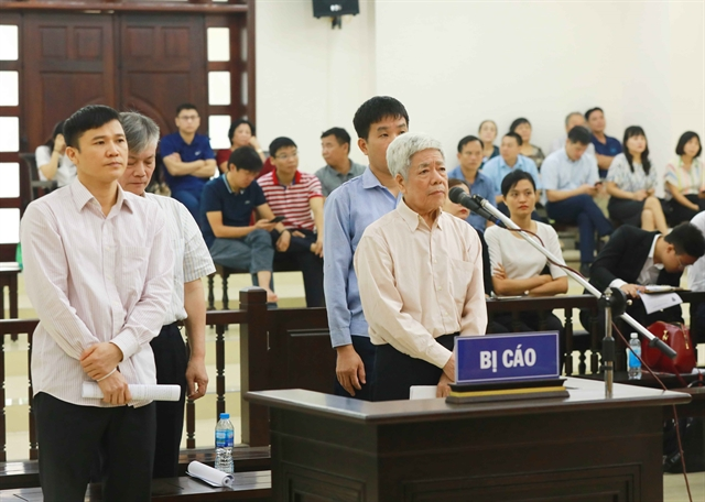 Appeal trial opens for ship scandal executives