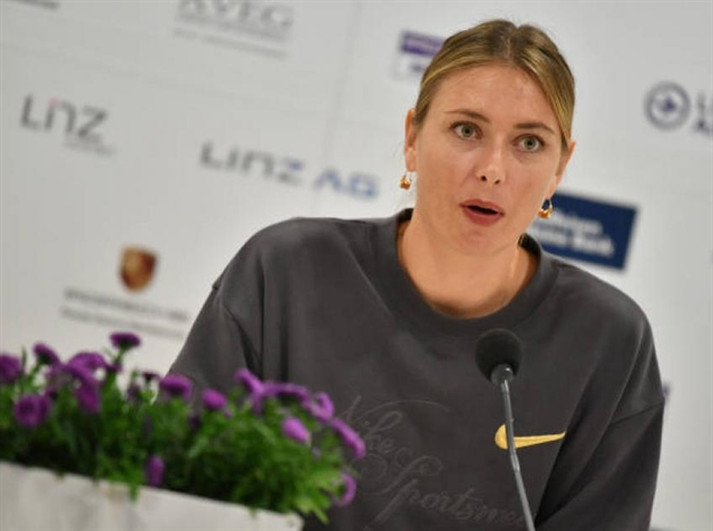 Sharapova out of Luxembourg Gauff in main draw