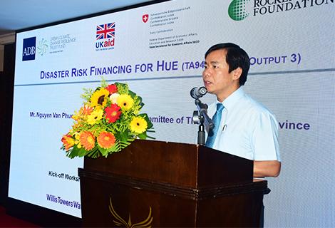 ADB helps Thừa Thiên-Huế mitigate risks of natural disasters