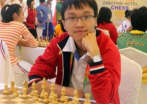 Sơn wins Liêm draws at FIDE Grand Swiss