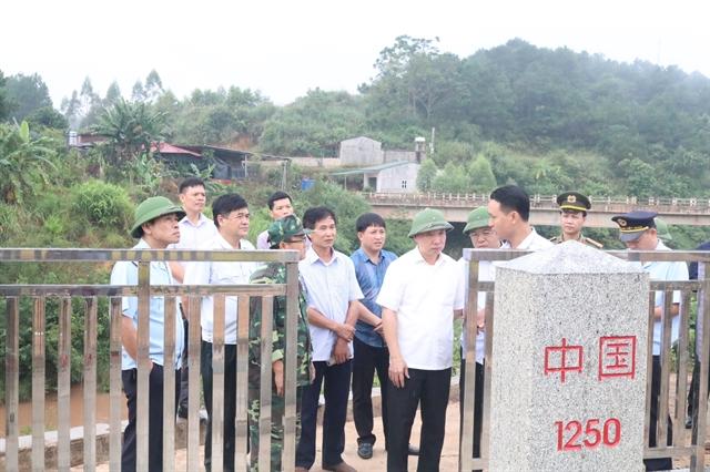 Lạng Sơn reviews 10 years of border demarcation