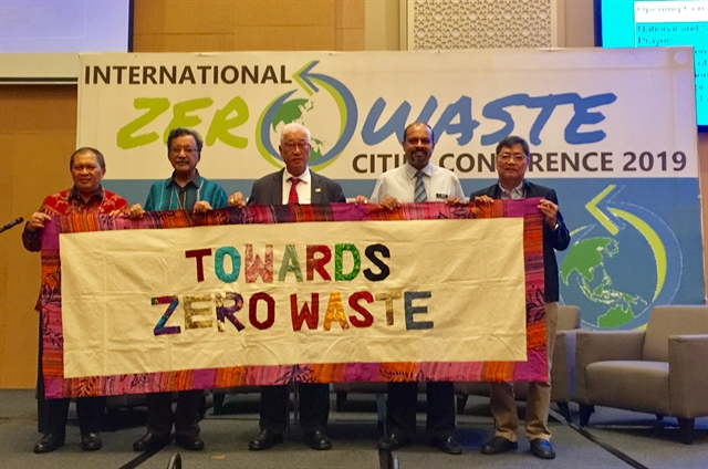 Asian cities showcase solutions towards zero waste