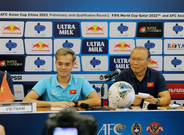 Việt Nam prepare to beat Indonesia: coach Park