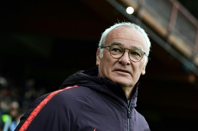 Ranieri rides to rescue of Serie A bottom club Sampdoria