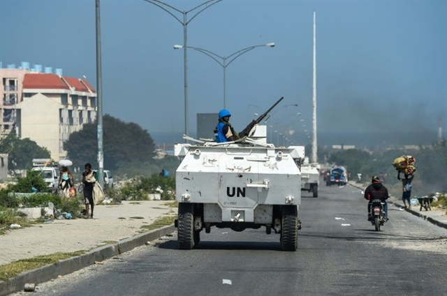 UN ends Haiti peacekeeping operations urges end to crisis