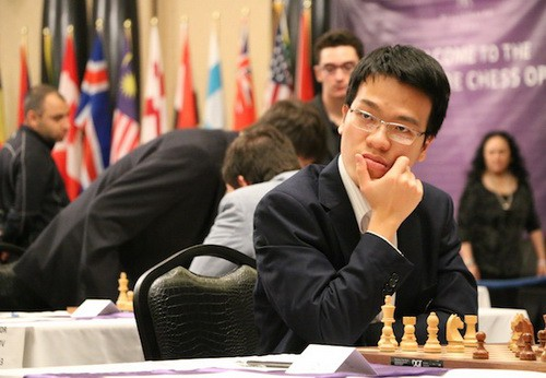 Liêm wins sixth match of FIDE Grand Swiss