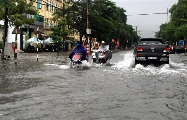 Heavy rains force students to stay home from school