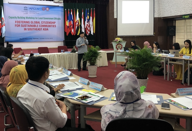 Government officials trained forglobal citizenship