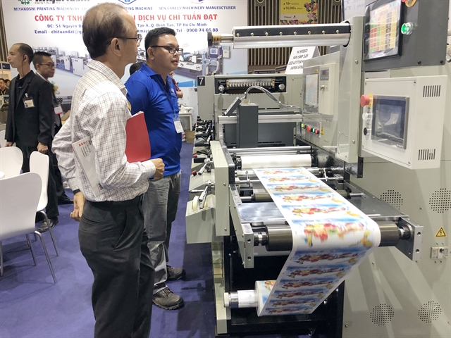Printing packaging exhibition opens in HCM City