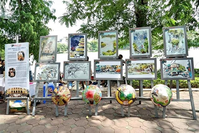 Asia-Link Sketchwalk Hà Nội – a destinationfor artists