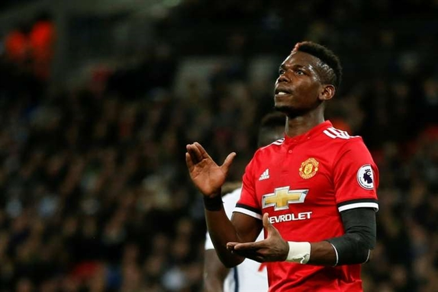 Pogba out of Uniteds clash with Liverpool
