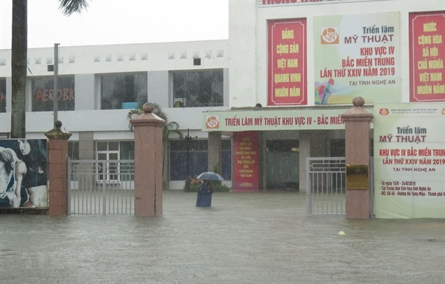 Heavy rain submerges thousands of homes in Nghệ An
