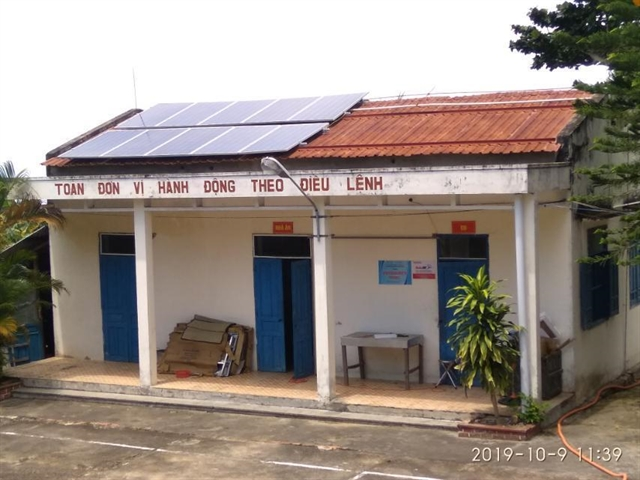 Off-grid solar power launched on Thổ Chu Islands
