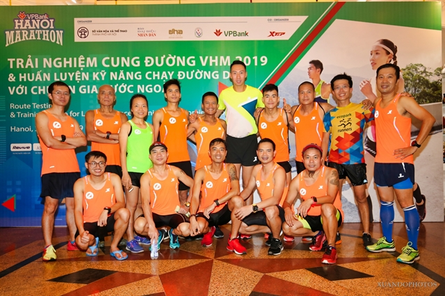 Over 7000 local and foreign athletes to attend VPBank Hà Nội Marathon this Sunday
