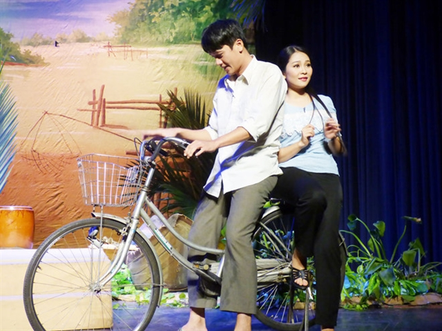 Vietnamese musical Đò Tình  (Love Boat) staged in HCM City