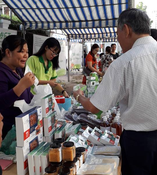 HCM City fair to promote food transparency