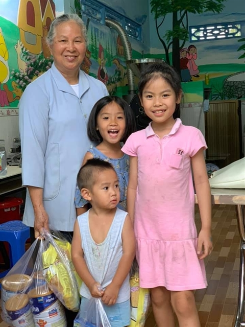 Nun raises abandoned children