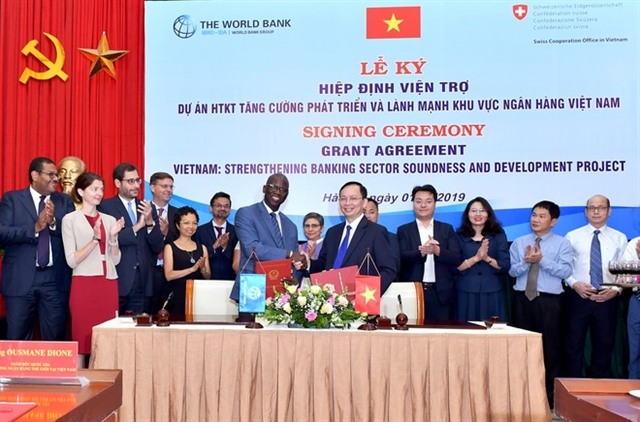 World Bank signs 2.2m project to strengthen Việt Nams banking sector