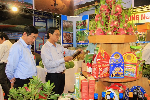 Agriculture trade fair underway in Bình Thuận