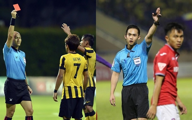 Singapore referees to officiate V.League matches