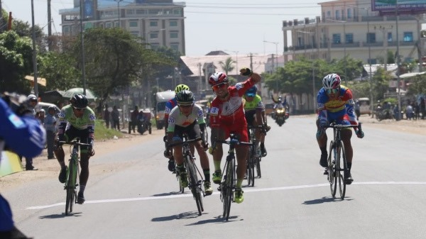 Minh wins stage Perez leads VOH cycling Cup