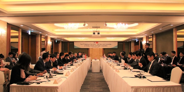 Việt Nam, RoK agree to boost co-operation in energy, industry, trade