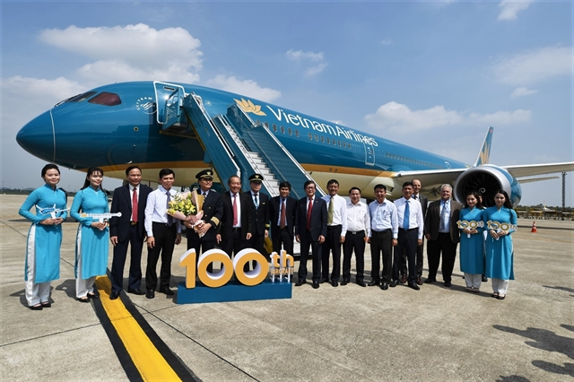 Vietnam Airlines addsDreamliners to100-strong fleet