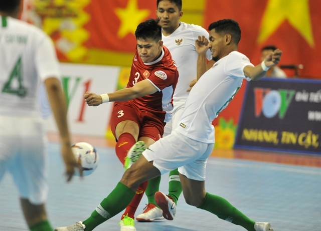 Việt Nam and Indonesia draw in AFF futsal tourney