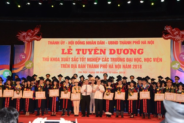 Hà Nội to honour excellent graduates of universities