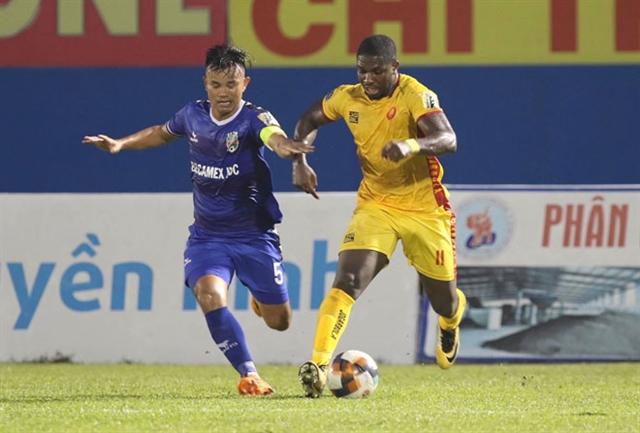 Thanh Hóasecure play-off match Khánh Hòadropped